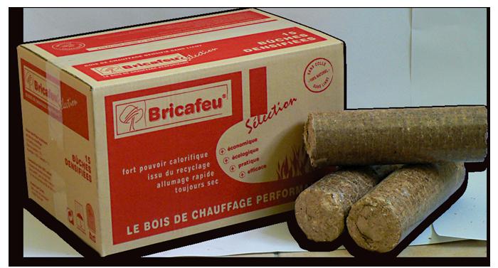 Nouveauté B u00fbches de bois compressé Jardi Bois # Buche De Bois Compressé Avis